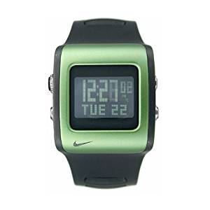 22c7ec61343 Get Quotations · Nike Mettle Blade Digital Watch - Black Green - WC0037-033