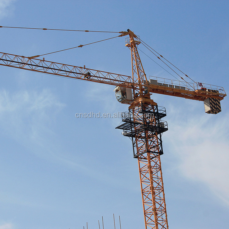 Shandong Hongda Ready-Package Tower Crane With Good Specification