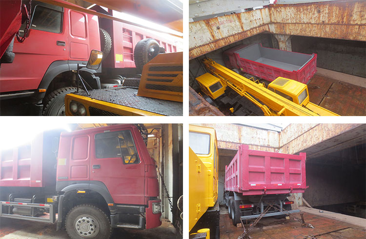 Factory price machinery dump truck 3 ton price for sale