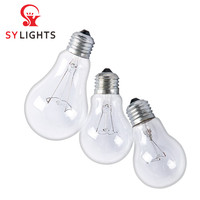 Good price incandescent light bulbs clear E27 B22 60w 75w 100w incandescent lamps