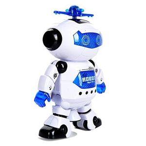 Sound and light intelligent toys remote control fighting robot for kids