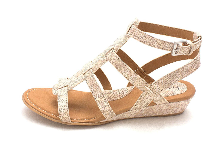 98e257a7f11 Get Quotations · Born Womens Heidi Open Toe Casual Platform Sandals