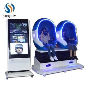 Promotion Virtual Reality 9D Egg VR 9D Cinema Motion Chair Flight Simulator  360 Games