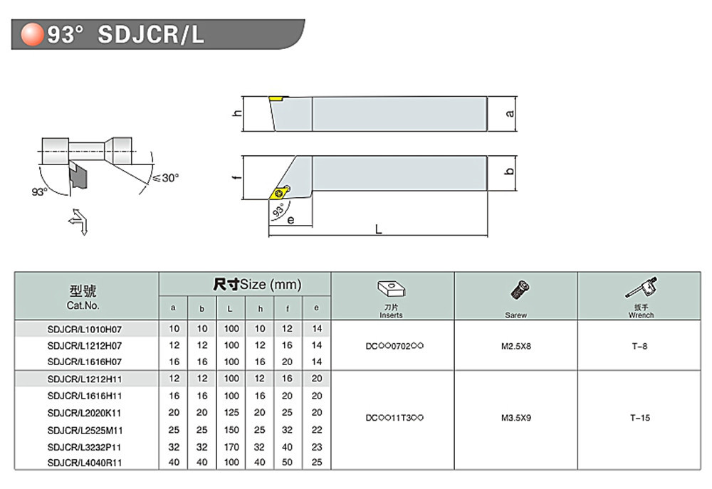 semi finished翻译_Set Of 12mm lathe boring Bar Turning Tool Holder with 4 DCMT insert NEW代拍_海外 ...