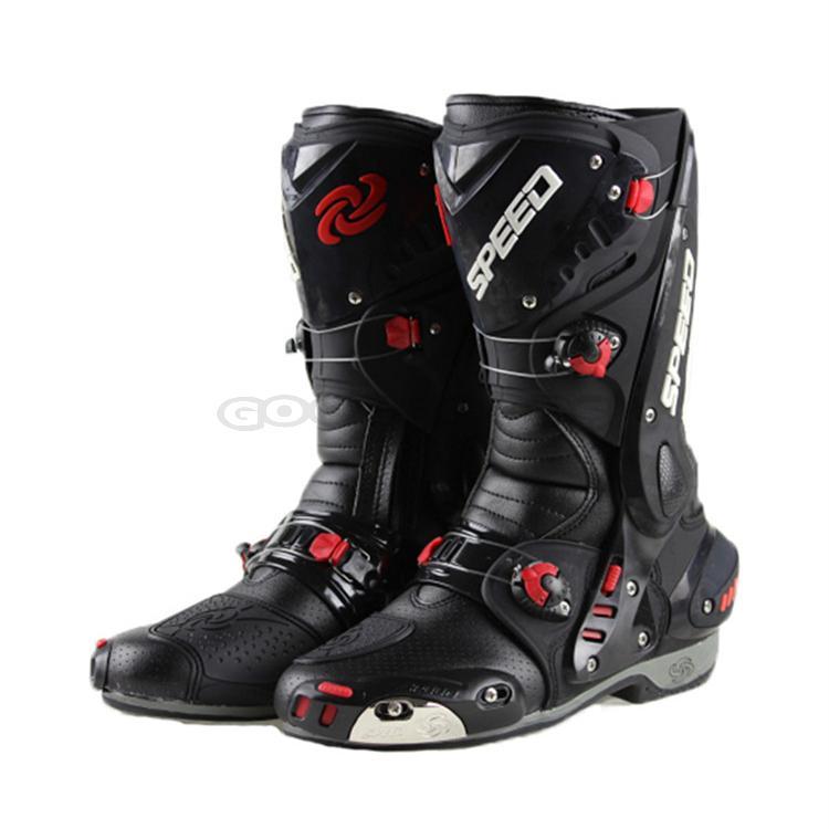 Sportbike Riding Boots >> Buy Pro Biker Speed Bikers Motorcycle Riding Boots Moto Racing