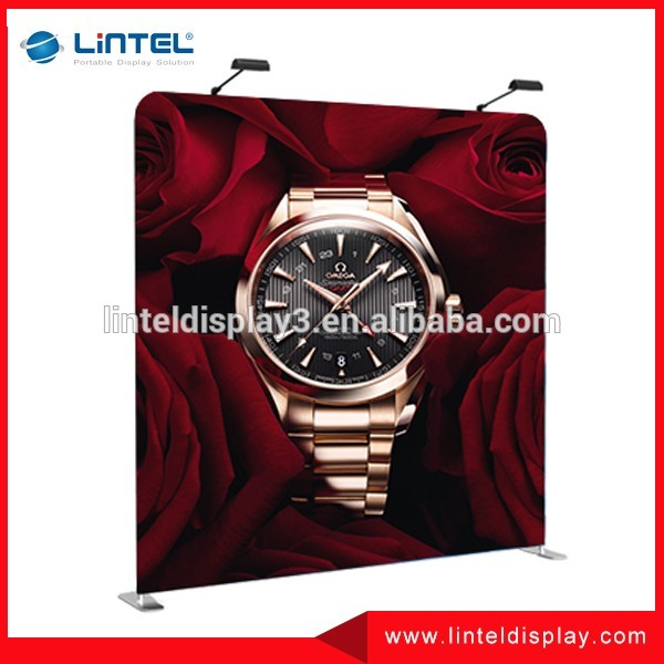 stage decoration portable fabric backdrop stand