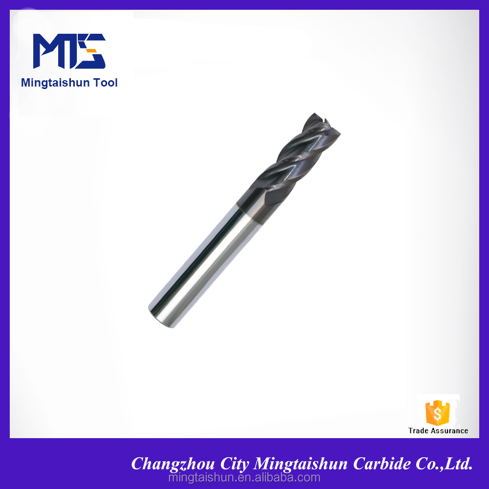 Quality Assurance high wear-resistance end mill face milling cutter