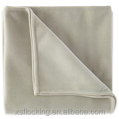 surface 100 nylon fiber of vellux blanket