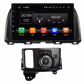 10.1 inch android 8.0 7.1 6.0 car dvd player for Mazda CX 5 CX5 Atenza 1024*600 octa core 4G+32G WS-9682