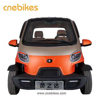 EEC certification 2018 China cheap mini electric car vehicle for 2 person
