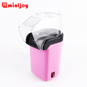 2018 most popular hot air electric popcorn maker small scale pop corn machine