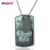 Custom Metal Antique Plated Stainless Steel Dog Tag With Necklace