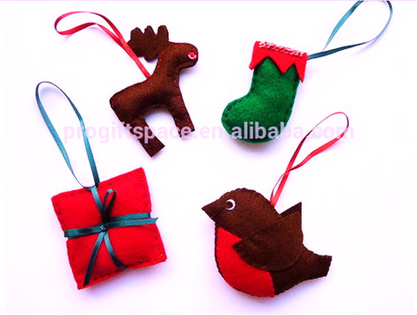 Eco Friendly New Felt Decoration Pendants Keychains Fabric ...