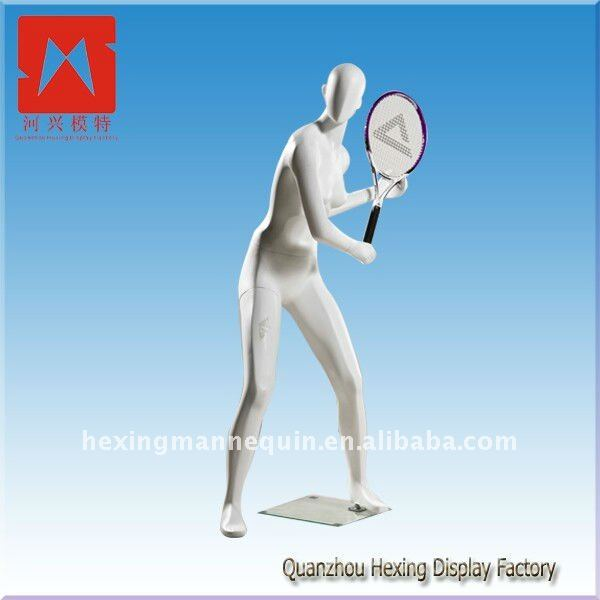Good quality white standing young models