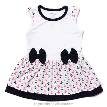 e781f8bba 2017 Latest Sleeveless Tank Little Baby Frock Designs For Girls ...