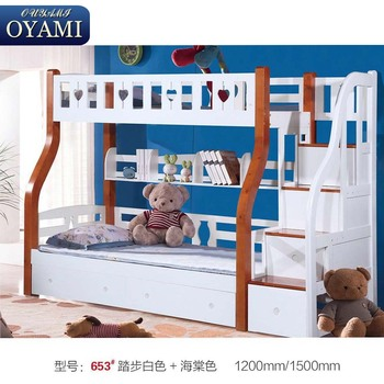 2018 New Classic 3 Person Bunk Bed With Drawers Buy 3 Person Bunk