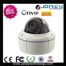 Onvif Water-Proof & Vandal-Proof IR Network Dome 5 Megapixel WDR Security IP Camera with POE