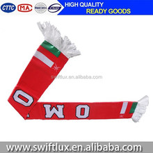 printing world cup sports team promotional mini football fan Scarf
