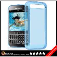 Keno Ultra Thin Transparent Cystal Clear TPU Phone Case for Blackberry Classic Q20 Cases Covers