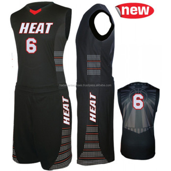 Basketball uniforms set