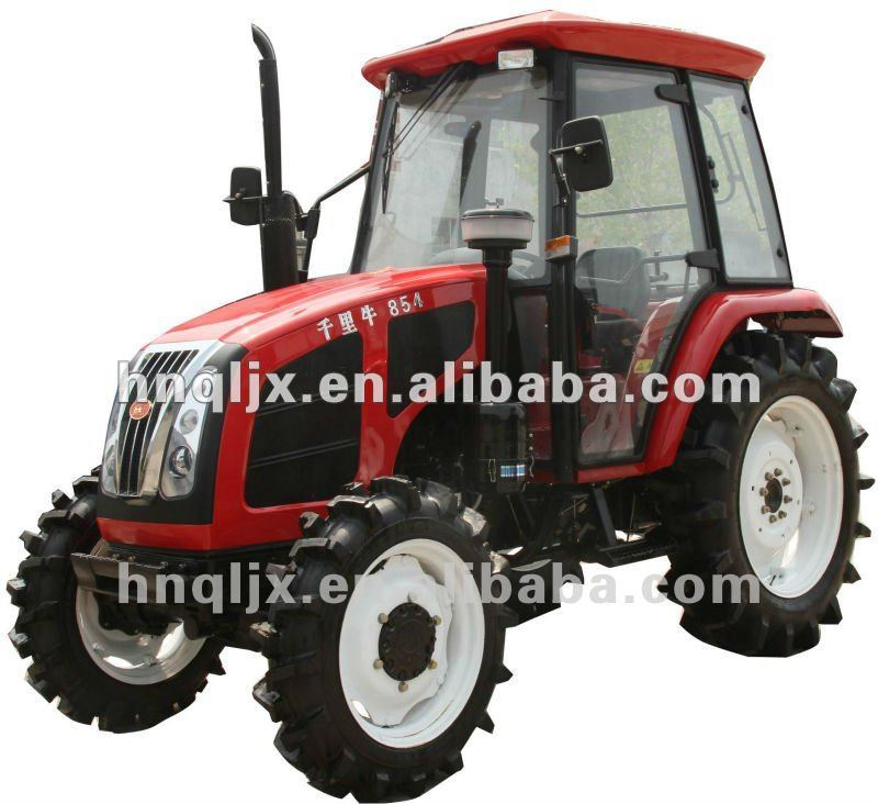 International qln854 farm tractor with luxurious cab
