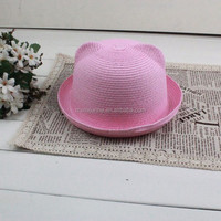 Chapeau de paille/Palm leaf hats for women/Fashion straw hats made in China
