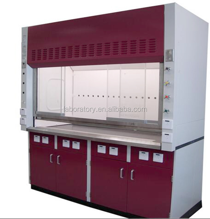 Lab Ventilation Chemical Testing Fume Cupboard Price