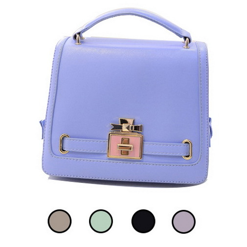 Get Quotations Classic Faux Leather Bags Cover Clasp Women Charm Short Design Top Handle Hard Model