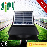 Axial Flow Type and Brushless Motor Solar Attic cooling fan