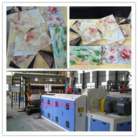 pvc marble sheet extrusion machine / pvc marble board extrusion machine / pvc faux marble sheet production line