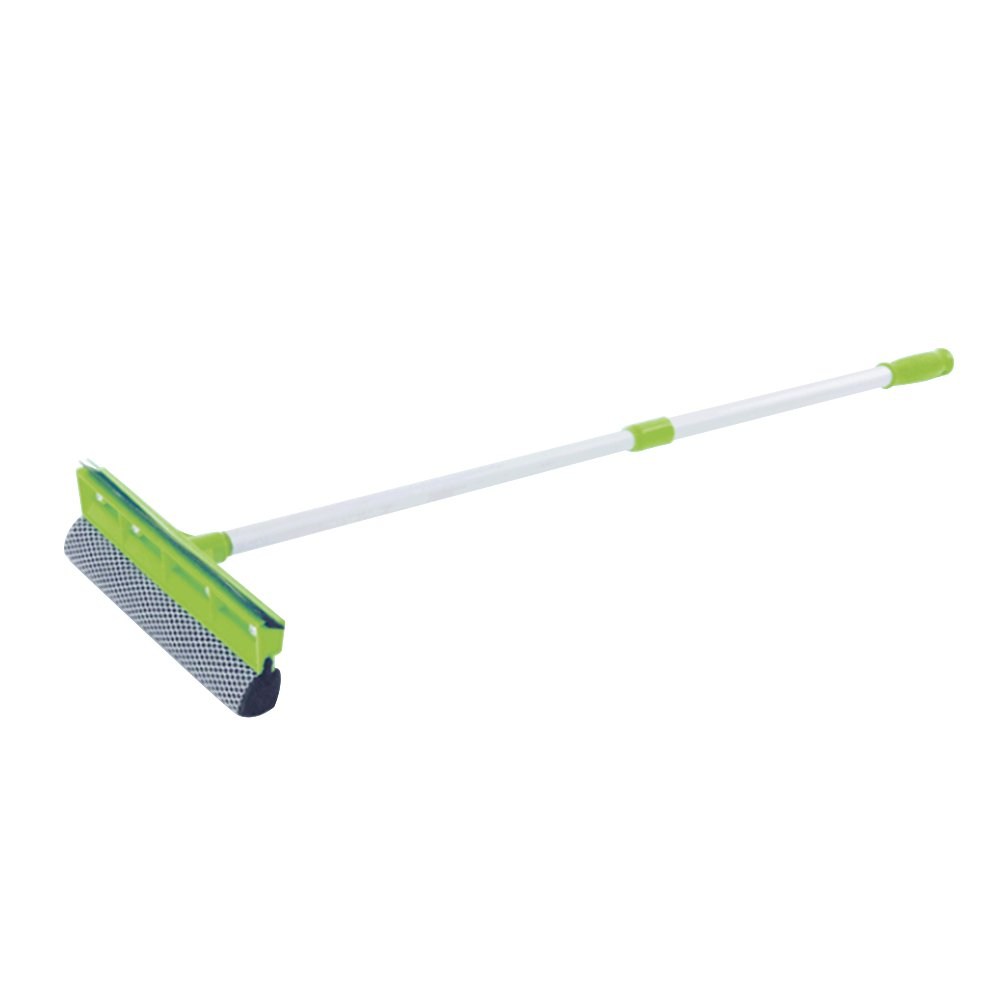 3.5M TELESCOPIC WINDOW CLEANER KIT WINDOW CLEANING EQUIPMENT SQUEEGEE SOFT HEAD by BeNeLux