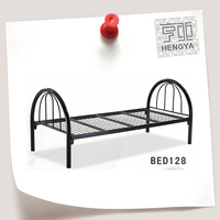 metal indian cot mounted bed