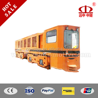 China manufacture 35T diesel-electric locomotive with imported Volvo generator for tunnel