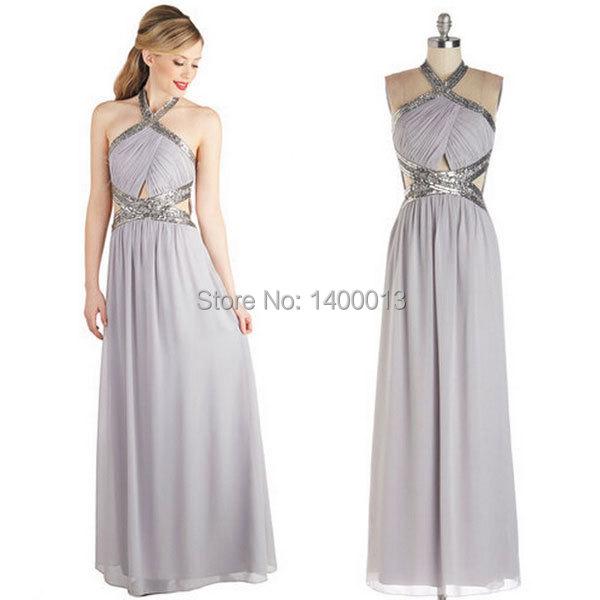 Light Grey Evening Dresses