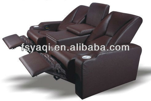 Electric home and commercial used leather recliner foot massage sofa