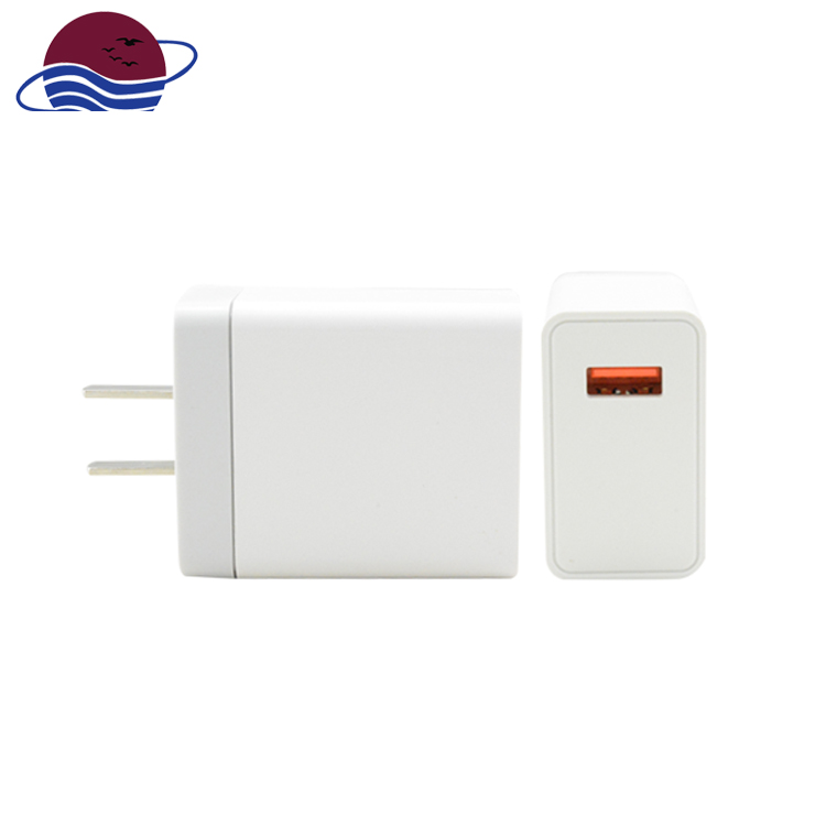 For Iphone for ipad for Samsung charging 1 port 5v3a qc3.0 usb wall charger