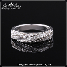 Top Quality New Design Factory Price Customized Rings Women 925 Silver Jewelry For Wedding