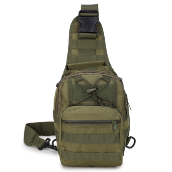 Camping Hiking Outdoor Military Sport Men Tactical Sling Chest Bag