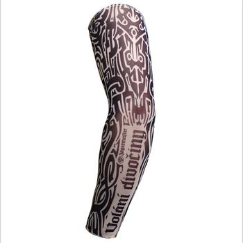 Nueva Llegada De Nylon Tatuaje Brazo Calentador Cubierta Elástico