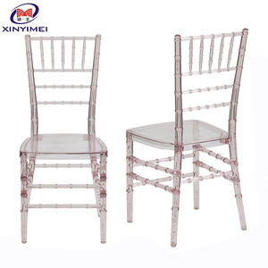 Quality clear resin used plastic chiavari chair