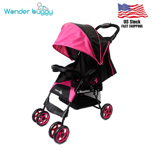 USA Stock High View Folding Baby Stroller