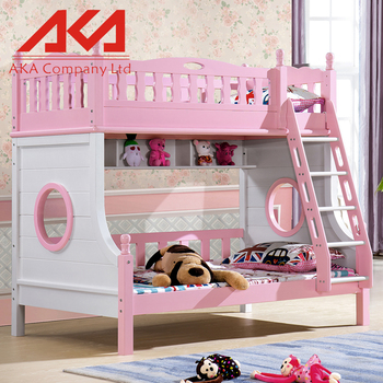 Furniture Bed Baby Cot Wooden Kids Bunk Malaysia