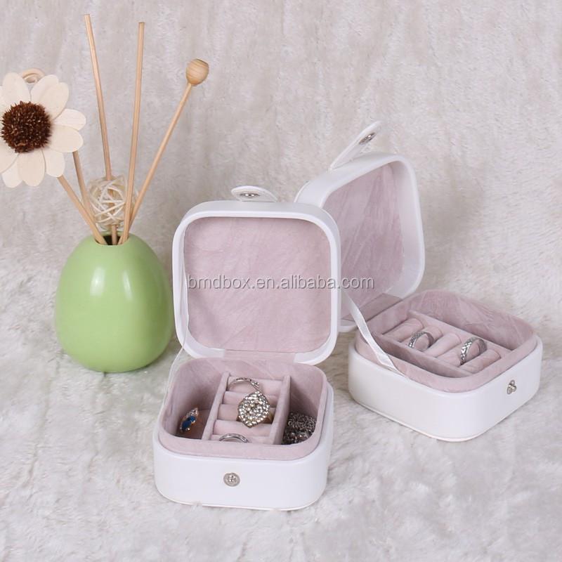 Best Friend Birthday Gift Small Travel Cardboard Jewelry Box For Women