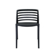 Plastic Material Stackable Garden plastic cafe chair