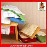 Home textile Azo-free cotton waffle yam dyed washcloth microfiber hand towel