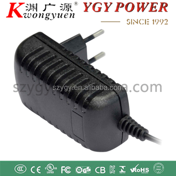 CE  listed 12v 1a set top box power adpater