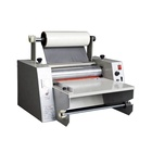 press film flat steel roll electric hot laminating machine (WD-380)