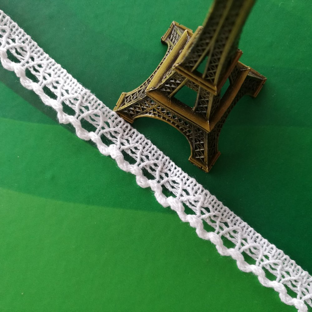 Wholesale PFD crochet lace for bridal voile nylon cotton lace trimming for dress