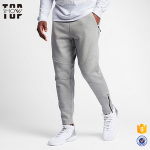 Best price high quality man clothes custom plain fleece men jogger pants