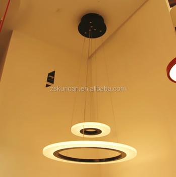 iron decorative hanging lights pendant lamp for hotel reception